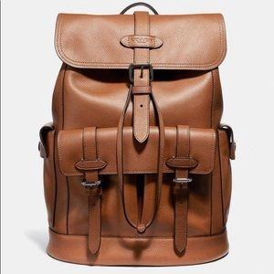 Coach Hudson Backpack- Leather Designer Bag
